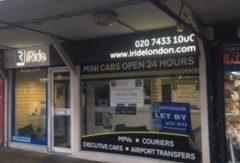 Kiosk Golders Green Station NW11