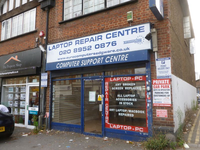 123 High Street Edgware Middx HA8 7DB